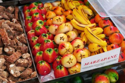 Sizilianische Marzipanfrüchte – Frutti della Martorana