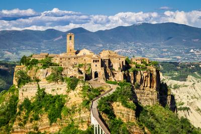 Sehenswürdigkeiten im Latium: Latium: Civita di Bagnoregio