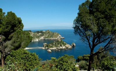 sehenswürdigkeiten in sizilian isola bella taormina