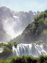 Sehenswürdigkeiten in Umbrien Cascata