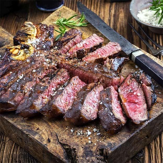 Weihnachtsgeschenke Männer Steak Bistecca