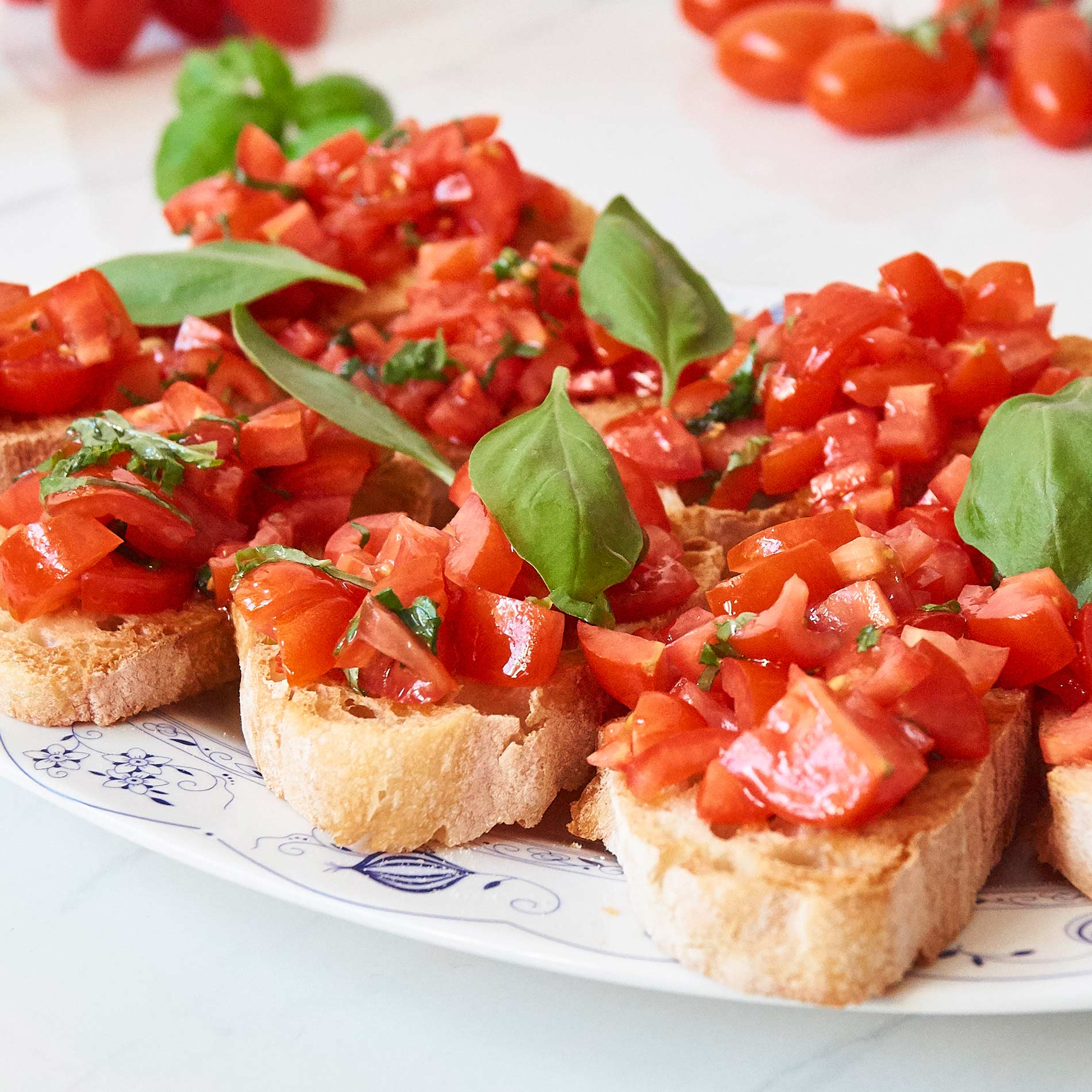 Bruschetta Rezept – mit Tomaten