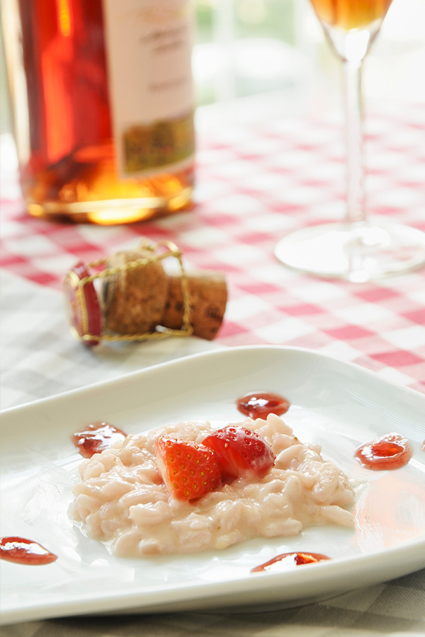 Erdbeer-Risotto