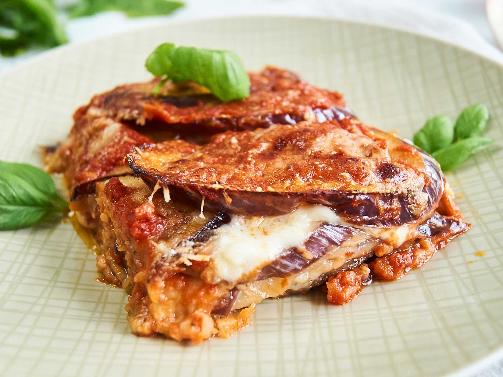 Parmigiana alle melanzane – italienisches Rezept