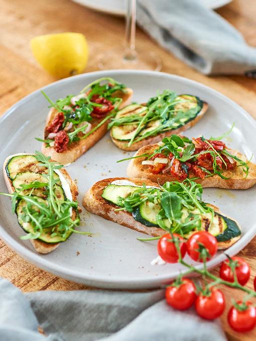 Crostini Rezepte – vegetarische Variationen