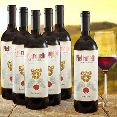 6er Vorteilspaket Pietronello Toscana Rosso IGT