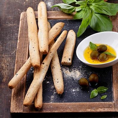 Grissini alle olive