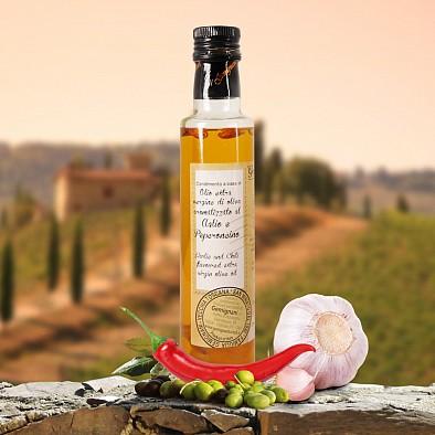 Olio Extra Vergine Aglio & Peperoncino