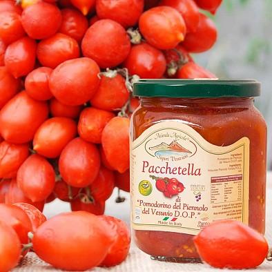 Piennolo Tomaten DOP - geschnitten