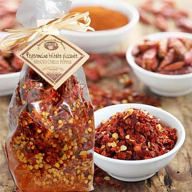 Getrocknete Chilis aus Kalabrien