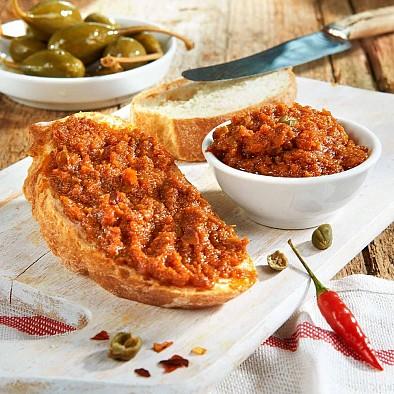 Tomatenpesto mit Sardellen