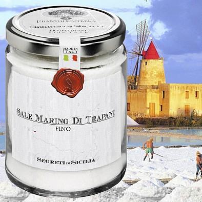 Feines Meersalz aus Sizilien