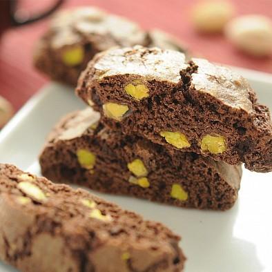 Cantucci Cacao e Pistacchi