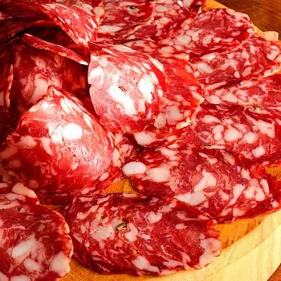 Salsiccia Piccante a fette