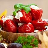 Peperoncini di Calabria ripieni con Pecorino