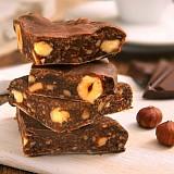 Panforte mit Schokolade