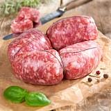 Italienische Bratwurst Spezialität - Salsiccia