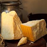 Parmesan Käse von der roten Kuh - Vacche Rosse Parmigiano Reggiano D.O.P.