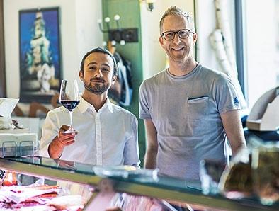 Foodscouts Jens Depenau und Gesualdo Zabatino